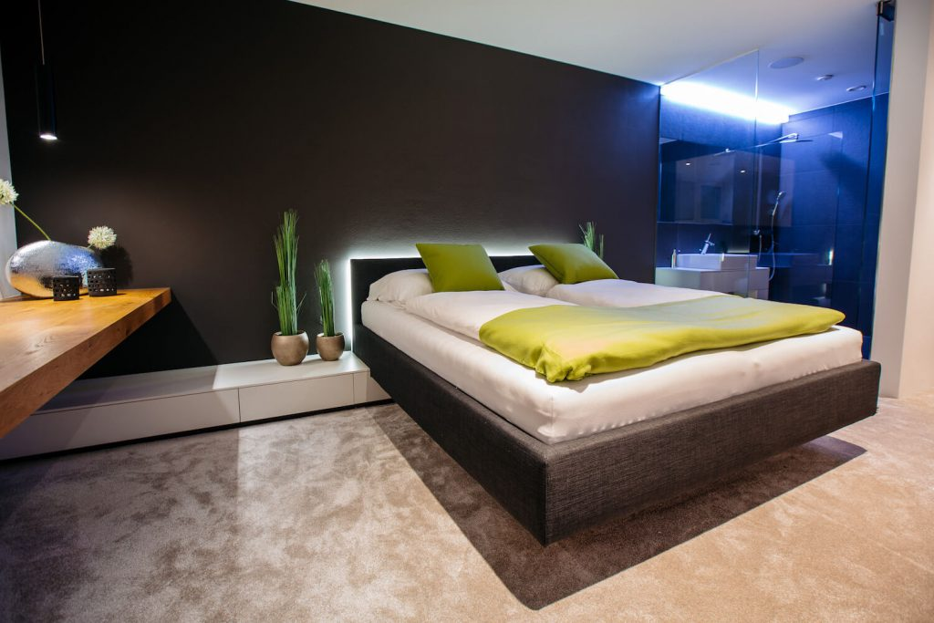 © Loxone Showhome Guest Room